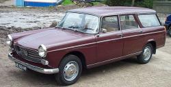 PEUGEOT 404 BREAK blue
