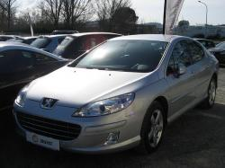 PEUGEOT 407 1.6 HDI 110 red