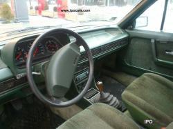 PEUGEOT 505 2.0 interior