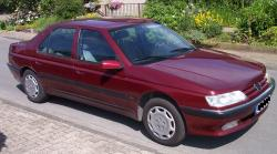 PEUGEOT 605 2.0 red