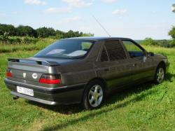 PEUGEOT 605 2.0 silver