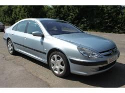 PEUGEOT 607 2.0 HDI silver