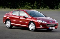 PEUGEOT 607 red