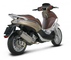 PIAGGIO BEVERLY red