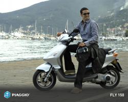 PIAGGIO FLY 100 red