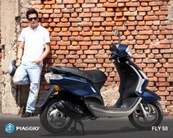 PIAGGIO FLY 100 white