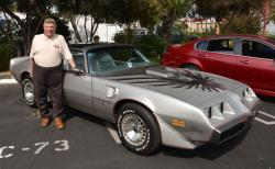 PONTIAC FIREBIRD AUTOMATIC brown