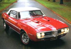 PONTIAC FIREBIRD AUTOMATIC red