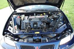 PONTIAC GRAND PRIX GTP engine
