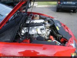 PONTIAC GTO 5.7 engine