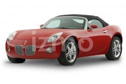 PONTIAC SOLSTICE CONVERTIBLE red