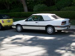 pontiac sunbird convertible