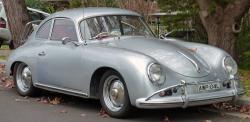 PORSCHE 356 1600 silver