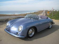 PORSCHE 356 blue