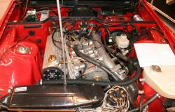 PORSCHE 924 CARRERA GTS engine