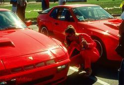 PORSCHE 924 CARRERA GTS interior