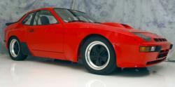 PORSCHE 924 CARRERA GTS red