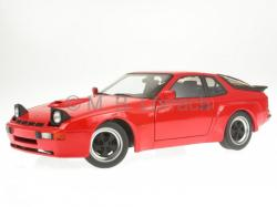 PORSCHE 924 CARRERA GTS silver