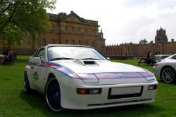 PORSCHE 924 CARRERA GTS white