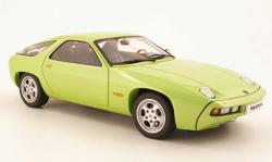 PORSCHE 928 green