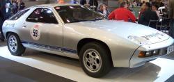 PORSCHE 928 silver