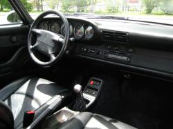 PORSCHE 930 TURBO interior