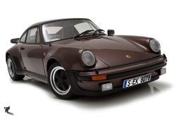 PORSCHE 930 brown