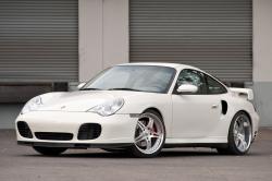 PORSCHE 996 white