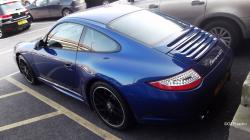 PORSCHE CARERRA GT blue