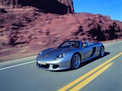 PORSCHE CARERRA GT silver