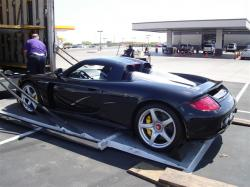 PORSCHE CARRERA GT brown