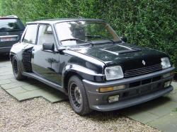 RENAULT 5 TURBO black