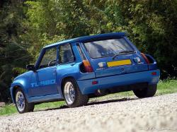 RENAULT 5 TURBO blue