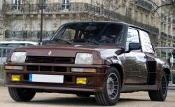 RENAULT 5 TURBO brown