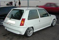 RENAULT 5 TURBO white