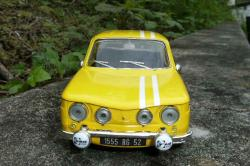 RENAULT 8 GORDINI black