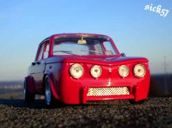 RENAULT 8 GORDINI red