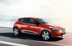 RENAULT CLIO red