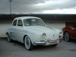 RENAULT DAUPHINE brown