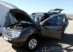 RENAULT DUSTER 1.6 interior