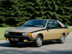 RENAULT FUEGO 2000 brown