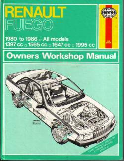 RENAULT FUEGO engine