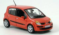 RENAULT MODUS red