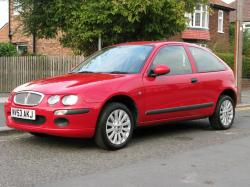 ROVER 25 red