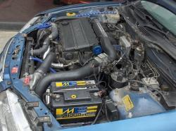 ROVER 400 TURBO blue