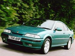 ROVER 400 TURBO green