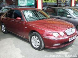 ROVER 75 1.8 red