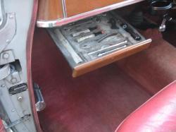 ROVER P4 interior