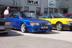 SAAB 900 -16 blue