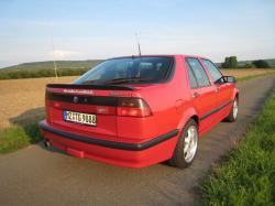 SAAB 9000 AERO red